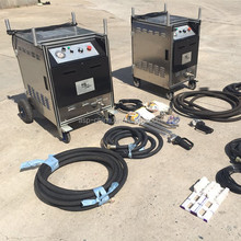Professional cleaning system dry ice blasting machine