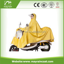 2017 summer Adult Bicycle Raincoat Polyester Motorcycle Rain Poncho