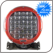 Warranty 2 Year 12-30V 9 Inch Spot Beam off Road Light 96W Motorcycle 4wd Led Drive Light