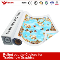 eco solvent banner film for roll up stand