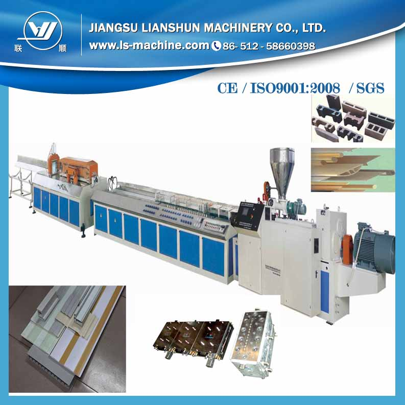 Big promotion Small size pvc profile extrusion production line