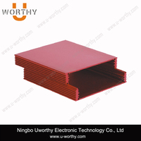 Aluminum HDD Case Extrusion Box with Anodizing and Silk Screen