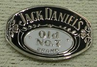 JACK DANIEL'S OLD NO. 7 Zinc Alloy Belt Buckle
