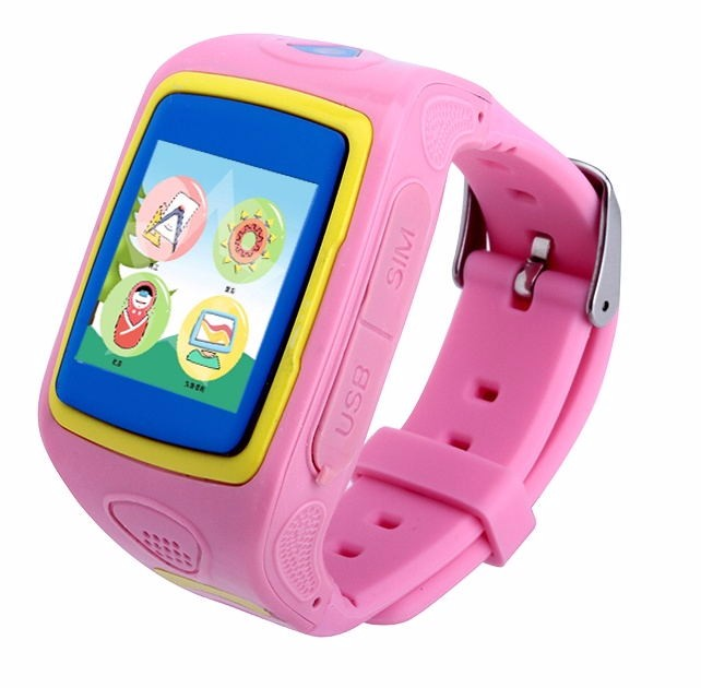 MP3 Music player GPS Tracking Watch and <strong>Phone</strong> for KidsSupport IOS6.0& Android 4.3 system
