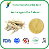 Organic Ashwagandha Extract Powder,Herbal extract Withania somnifera extract,pure 3% 5% Withanolides
