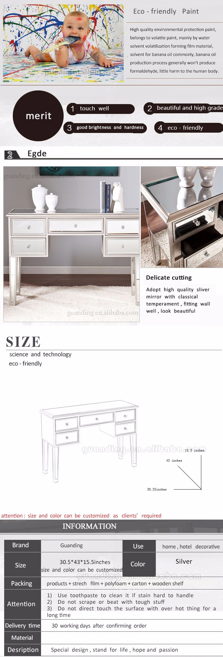 living room console table with drawers