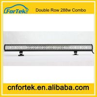 288w off road led light bar 50 inch double row combo crazy for the 2014 Worle Cup for 50% discount