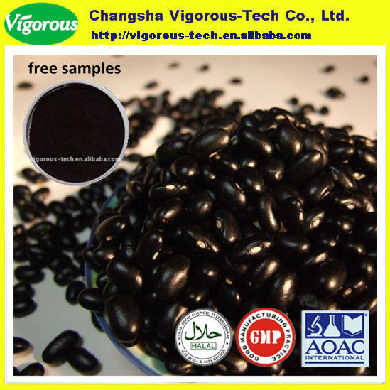 100% Natural Black Bean Extract/Black Bean Extract powder/black beans specifications