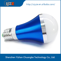 Hot selling new design Different color smart led light bulb 5w china manufacturer