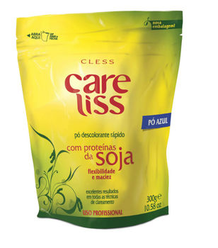 CLESS CARE LISS Quick Acting Powder Bleach with Soy Proteins