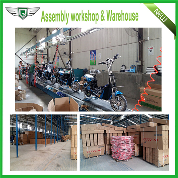 1 assembly workshop & warehouse two wheel electric scooter China