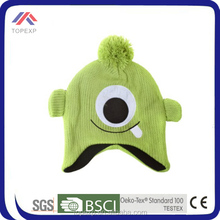 Kids Knitted Beanie Hat With Ear Muff