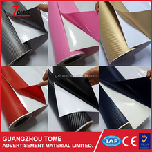 127*30CM 3D Carbon Fiber Film Vinyl Sticker Car Body / Interior Decoration Purple Pink Red Green Grey Golden Black Blue White