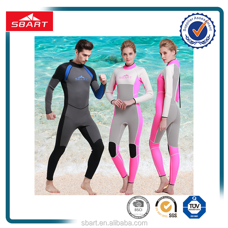 New stretch 3mm neoprene diving sun protection wet suit sportswear wet suit