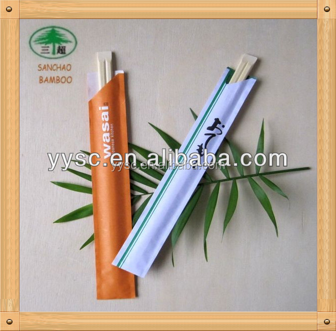 Japanese import goods chopsticks with logo cover