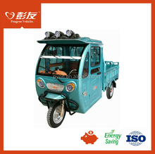 high quality Strong power 1000W 60V cargo tricycle 3 wheel electric TUKTUK