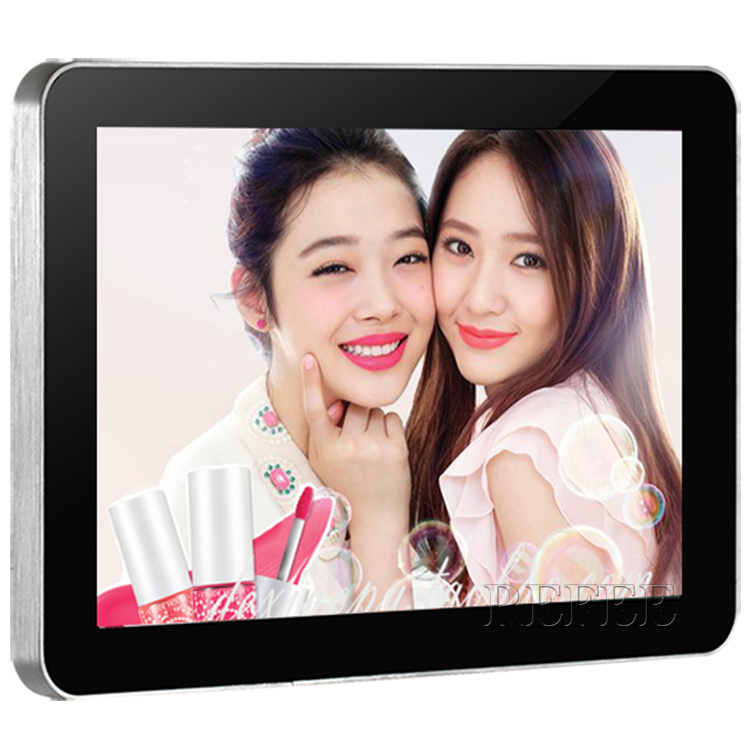 10.1inch horizontal screen auto loop play picture and video advertising display, lcd video player