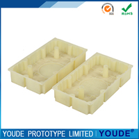 Promotional pmma plastic prototype cnc machining rapid prototyping for medical parts