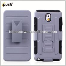 shockproof robot case for galaxy note 3 pc silicon for samsung galaxy note3