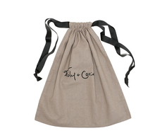 Promotional Customized linen Drawstring Shoe pouch,laundry bag