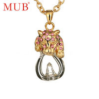 2014 Charm 18k Gold Plated Necklace Pendants Wholesale Jewelry