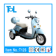 popular across the world 3 wheel long running distance electric scooter with seat for kids