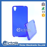 Factory price single color clear TPU case for Alcatel One Touch Idol 3 OT 6039