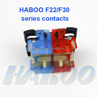 push button switch contacts NO NC 1NO+1NC 2NO+2NC or more connector terminal manufacturer directly