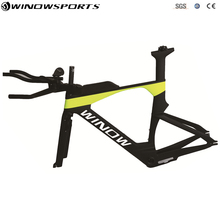 2018 WL-TT028 New model 700c Carbon Time Trial Bicycle Frame carbon racing TT Bike Frame Shipping with EMS