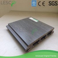 wood plastic composite wall covering