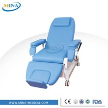 MINA-BC09 collection medical phlebotomy blood donor beds