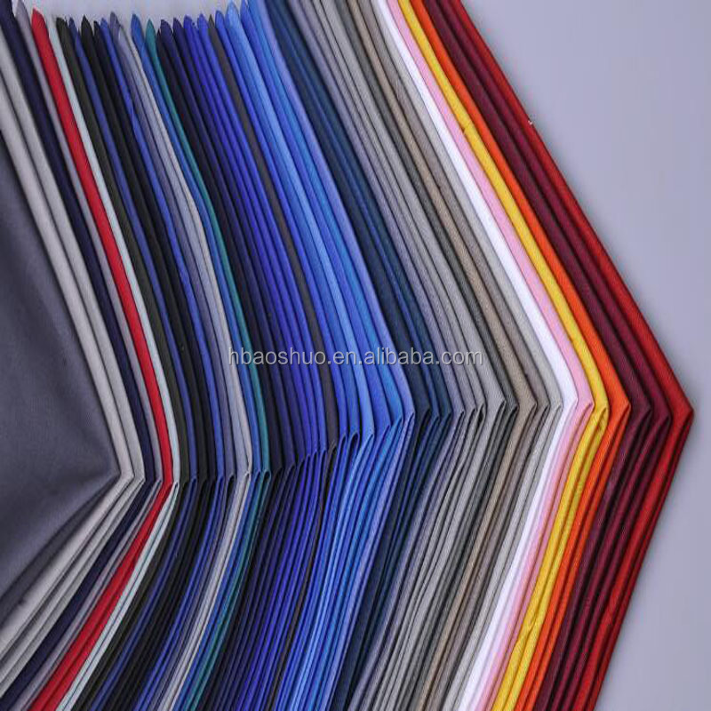 textile fabric grey color fabric for workwear