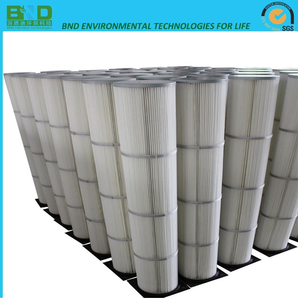 Toray polyester pleated filter Element for pulse jet collector