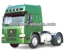 420hp HW79 cab with two berths Howo 4x2 tractor truck with CE