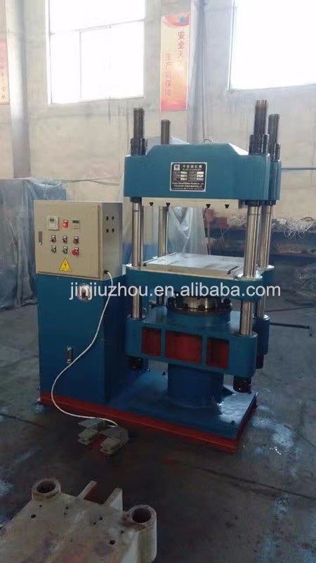 Rubber shoe sole making machine/rubber machine