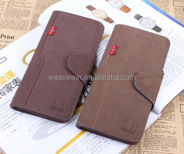 Popular professional Genuine leather Men Fashion and trendy ecological purses