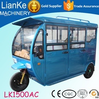 motorcycle truck 3-wheel tricycle/enclosed 3 wheel electric car with 4-6 passenger seats/adult motorcycle price