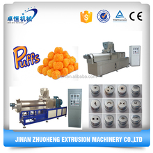 puffed corn snack bar food extruder equipment