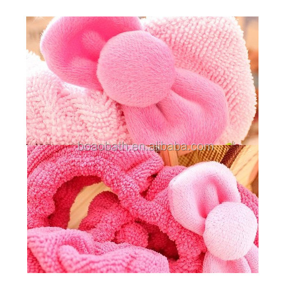 New products Microfiber Headband cute bowknot headband