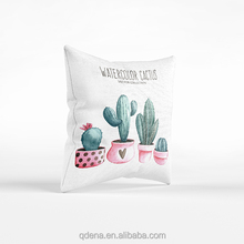 Wholesale Chinese Cotton Linen Cushion Cover With Printing Designs