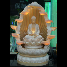 polyresin religion buddha water fountain