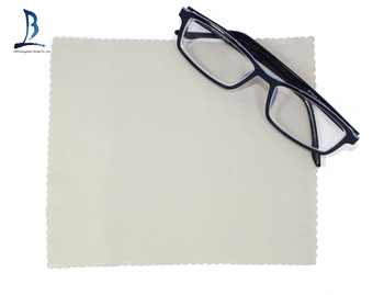 Professional microfiber cleaning cloth eyeglass sunglass cloth in china