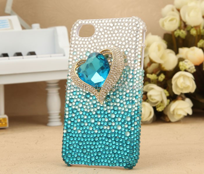 crystal/diamond/acrylic/rhinestone stickers mobilephone pearl sticker