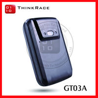 Micro Vehicle Tracking Device with long time standby magnetic installed design