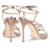 Luxurious design new elegant leather upper pointed toe high heel shoes sandal for women sandals