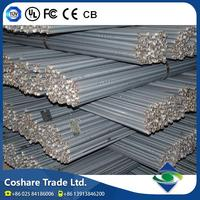 COSHARE- ISO 9001 approval Quality guarantee hot rolled high strength steel rebar