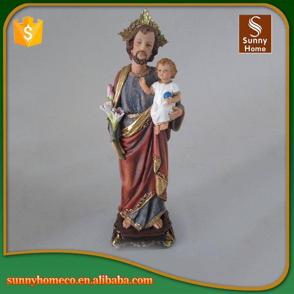 indoor Religious statues resin christmas crafts