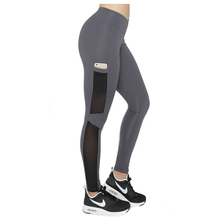 High performance fabric sportwear side pocket design moisture wicking yoga sports leggings