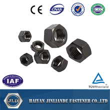 hex nuts black ,zinc plated, yellow ANSI B18.2.2 standard DIN934 M3,-M30