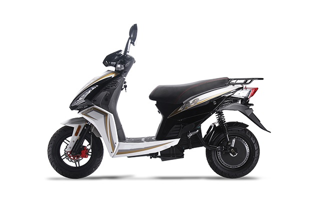 EEC Approved 3000w Electric Motor Scooter with 20Ah Silicone Battery
